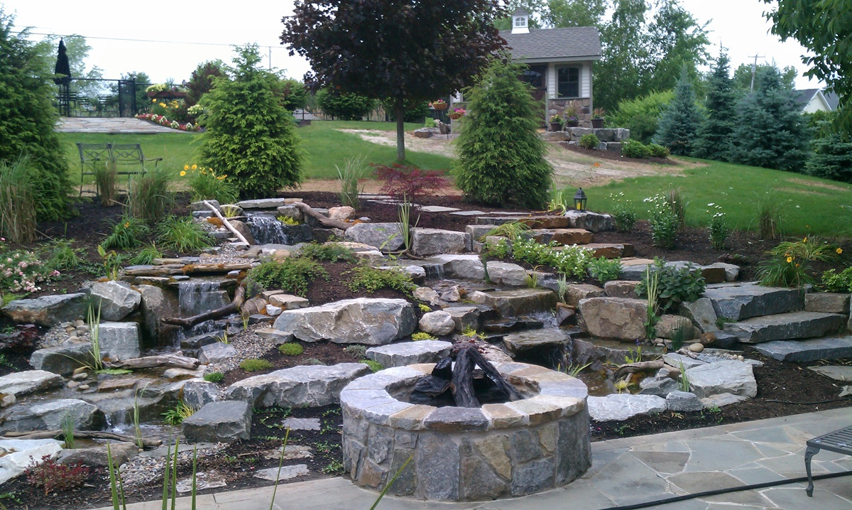 pondless waterfalls decker u0027s ponds u0026 landscaping serving the